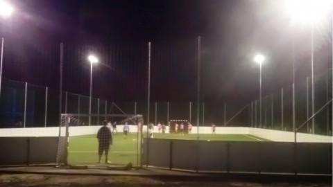 Ecolux Line focipálya világítás komplett kivitelezése